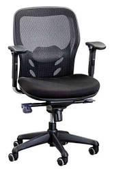Офисное кресло с регулируемыми подлокотниками Enrandnepr  Кураж M черный