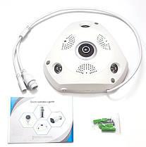 Wi-Fi / IP панорамная камера 3D XPX 360 градусов, фото 3