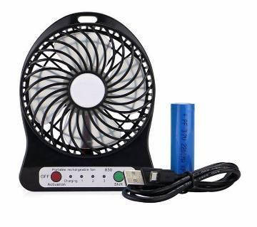 Аккумуляторный вентилятор настольный F002, фото 2