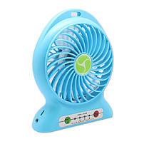 Аккумуляторный вентилятор настольный F002, фото 3