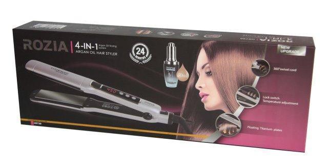 Прибор для укладки волос 4в1 Rozia HR-730