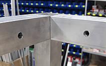 Корпус из алюминиевой трубы (крепление под 90 градусов открытое), фото 2