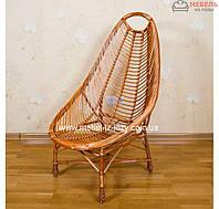"""Кресло из лозы ручной работы """"Ракушка"""""""