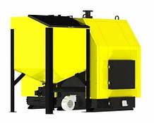 Промышленный котел на дровах и на пеллетах KRONAS PROM COMBI 97 кВт с автоматической подачей топлива