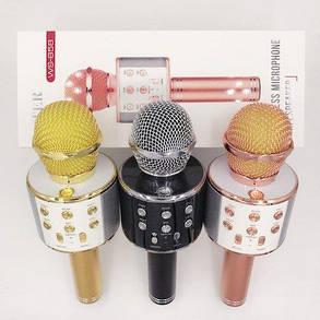 Беспроводной Bluetooth микрофон для караоке KTV-858, фото 2