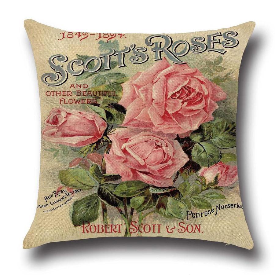 Подушка декоративная Розы 45 х 45 см Berni