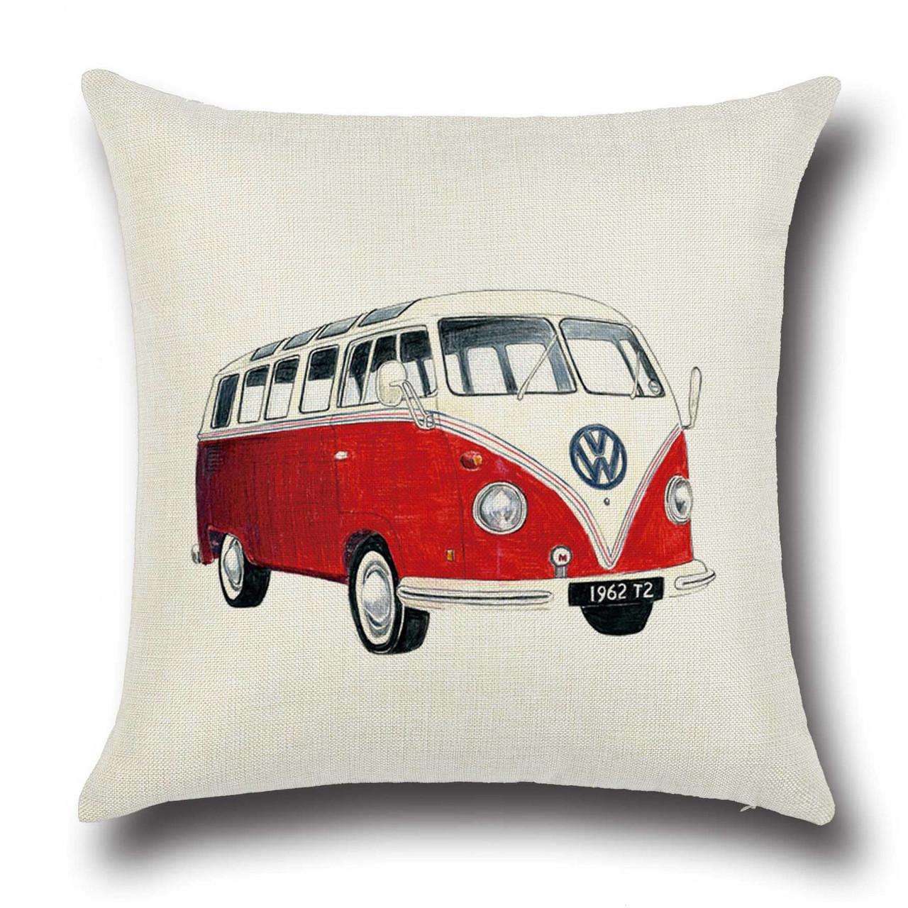 Подушка декоративная Volkswagen T1 45 х 45 см Berni