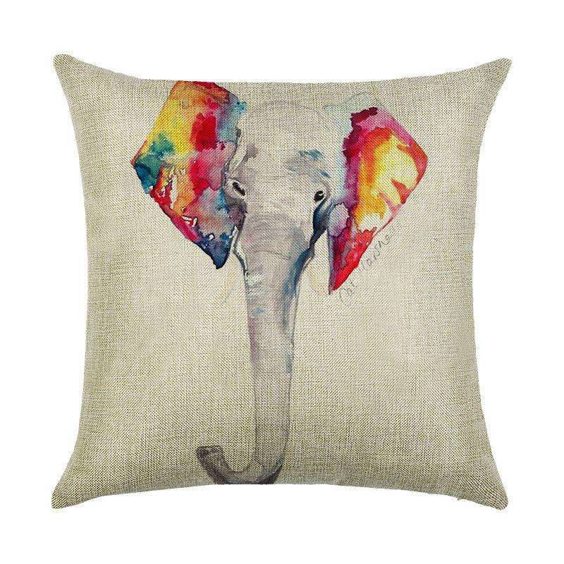 Подушка декоративная Слон 45 х 45 см Berni