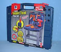 Набор инструментов стол 661-74  (008-21) в чемодане. Более 50-ти предметов