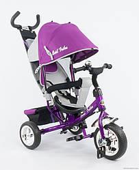 Трехколесный детский велосипед Best Trike 6588В new (2017) надувные колеса