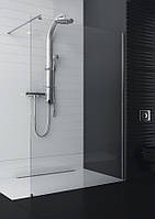 Асимметричная душевая кабина Aquaform SOUL с профилем 1200x970x2000
