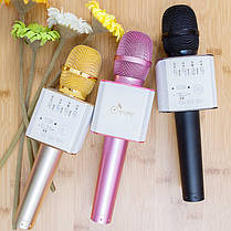 Беспроводной Bluetooth микрофон для караоке Q9 в кейсе, фото 2