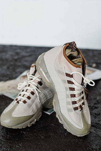 c02e9d03 Купить Мужские кроссовки Nike AIR MAX 95 SneakerBoot Beige (Реплика Люкс) В  Украине Недорого   Juiced
