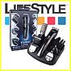 Машинка для стрижки волос Kemei KM-600. Триммер 11 в 1