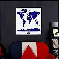 1PCновоегорячеевысокоекачествосветящееся карточка карты мира перемещения карты мира с ярлыком стены звезды 1TopShop