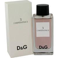 Женская туалетная вода Dolce & Gabbana №3 L`imperatrice 100ml(tester)