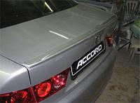 Спойлер Honda Accord Сабля на багажник  2003 - 2007 год