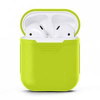Чехол Upex для наушников Apple AirPods Green (IGAPUSCG3)