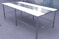 Стол для обвалки мяса двухсторонний без полки , фото 1