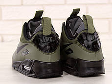 Кроссовки мужские Найк Nike Air Max 90 Mid Winter Green. ТОП Реплика ААА класса., фото 3