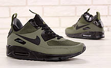 Кроссовки мужские Найк Nike Air Max 90 Mid Winter Green. ТОП Реплика ААА класса., фото 2