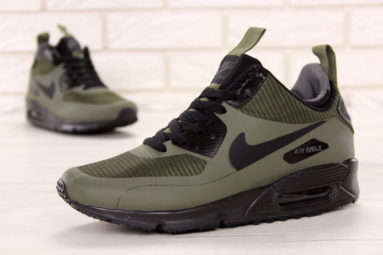 b2bc0db1 Кроссовки мужские Найк Nike Air Max 90 Mid Winter Green 41: 1 280 ...