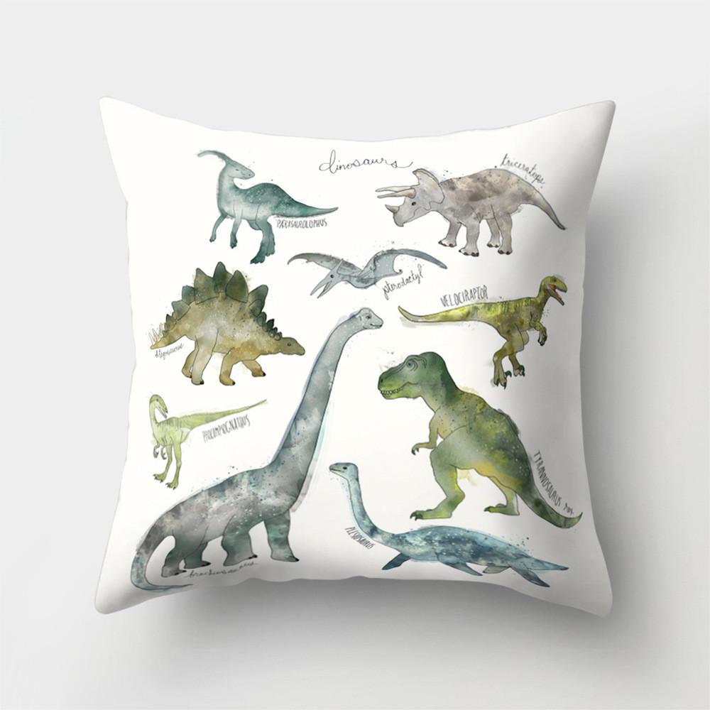 Подушка декоративная Динозавры 45 х 45 см Berni