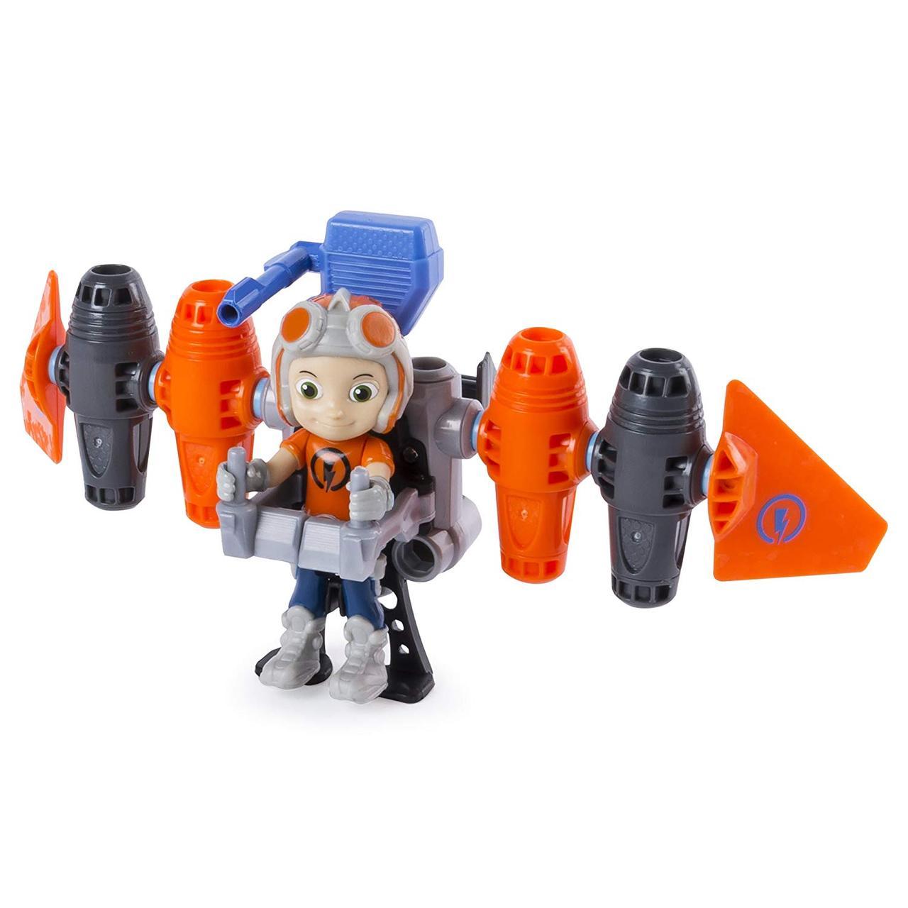 Игровой набор Расти-Механик и Джет Пак, Rusty Rivets Jet Pack