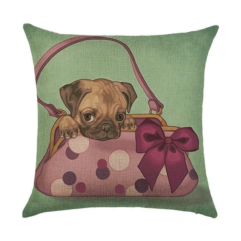 Подушка декоративная Щенок в сумке 45 х 45 см Berni