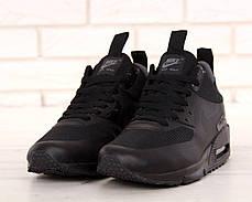 Кроссовки мужские Найк Nike Air Max 90 Mid Winter Black. ТОП Реплика ААА класса., фото 2