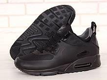 Кроссовки мужские Найк Nike Air Max 90 Mid Winter Black. ТОП Реплика ААА класса., фото 3