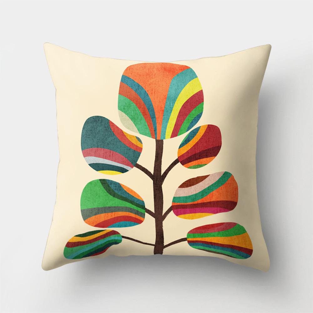 Подушка декоративная Радужное дерево 45 х 45 см Berni