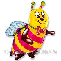 """Фольгований міні-куля Бджола 14""""(35см) FlexMetal"""