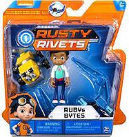 Игровой набор Расти-Механик, Rusty Rivets - Ruby and Bytes, фото 1