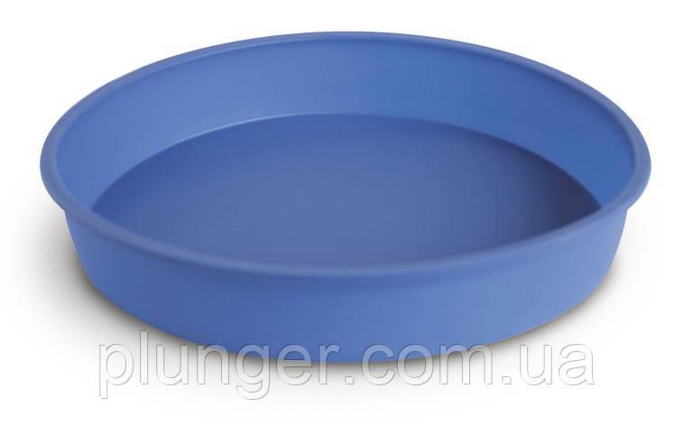 Форма силіконова для випічки Бісквіт великий  з рівним дном