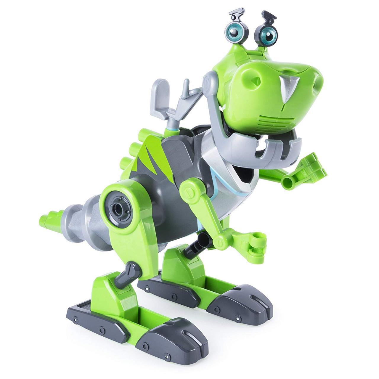 """""""Расти-механик"""" Ботозавр Rusty Rivets от Spin Master, Динозавр-конструктор, свет, звук"""
