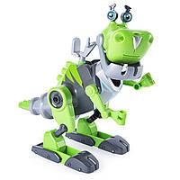 """""""Расти-механик"""" Ботозавр Rusty Rivets от Spin Master, Динозавр-конструктор, свет, звук, фото 1"""
