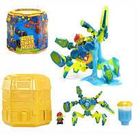 Игровой набор с роботом READY2ROBOT капсула-сюрприз для мальчика, MGA  Оригинал из США