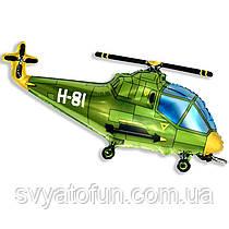 """Фольгированный мини--шар """"Вертолёт"""" 14""""(35см) Flexmetal"""