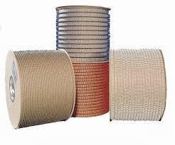 Пружина металлическая в бобине серебро 25,4 мм, RENZ  шаг 2:1, 4 500 колец