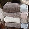 Элитные махровые полотенца из хлопка.