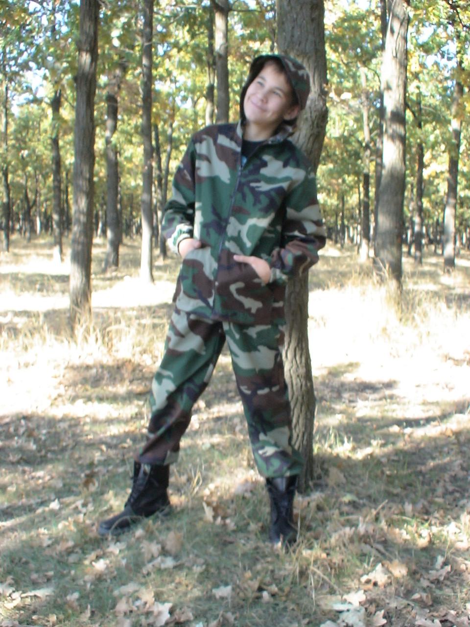 Детский камуфляж костюм для мальчиков Лесоход цвет Лес