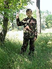 Костюм детский Кадет камуфляж Лес, фото 2