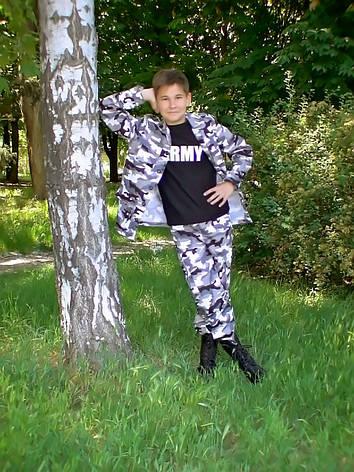 """Костюм камуфляж """"Кадет-Волк"""" от 4 до 12 лет, фото 2"""