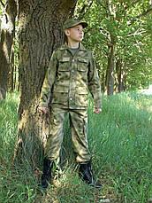 Детский военный костюм для мальчиков Кадет камуфляж A-TACS, фото 3