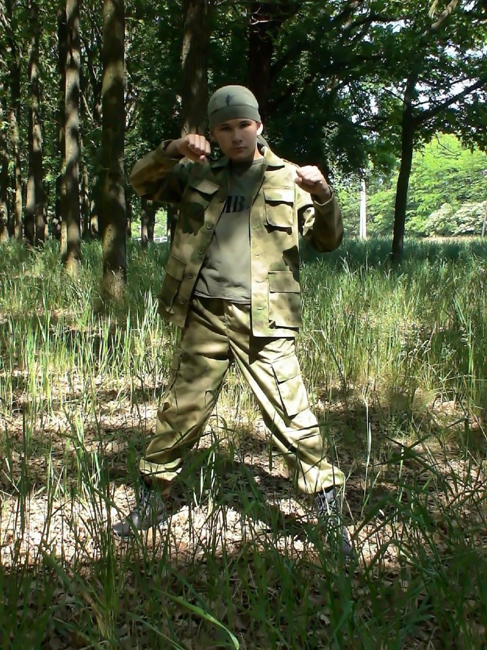 Детский военный костюм для мальчиков Кадет камуфляж A-TACS
