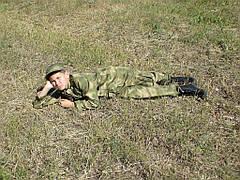 Детский военный костюм для мальчиков Кадет камуфляж A-TACS, фото 2
