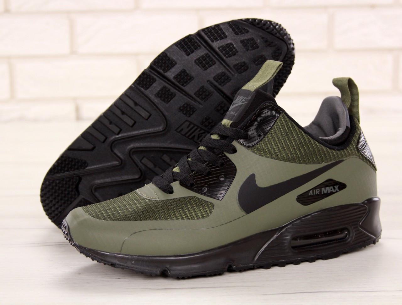Кроссовки мужские Найк Nike Air Max 90 Mid Winter Green - Интернет-магазин  в Киеве 2ca72e430b0e5
