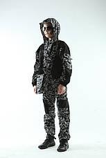 Костюм детский вельвет камуфляж с капюшоном рост 116-122 см, фото 2