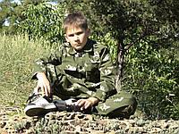 Костюм детский Кадет камуфляж Березка
